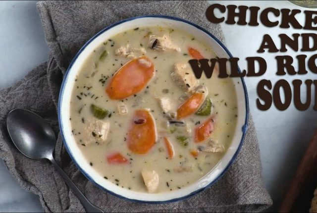 Chicken-and-Wild-Rice-Soup-Recipe-Food-Wine