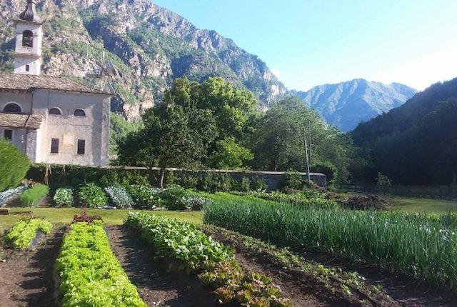 Paysage à manger Valle d'Aosta