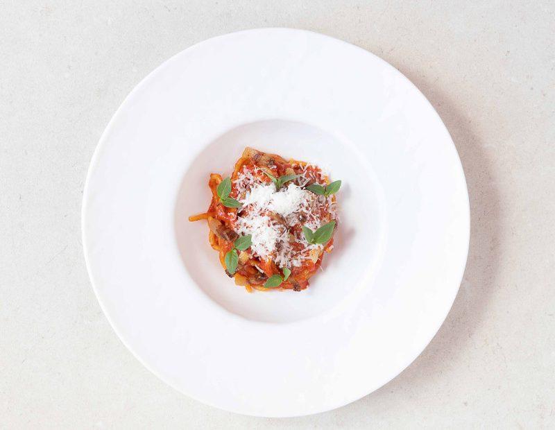 Spaghetto alla morelle de balbis
