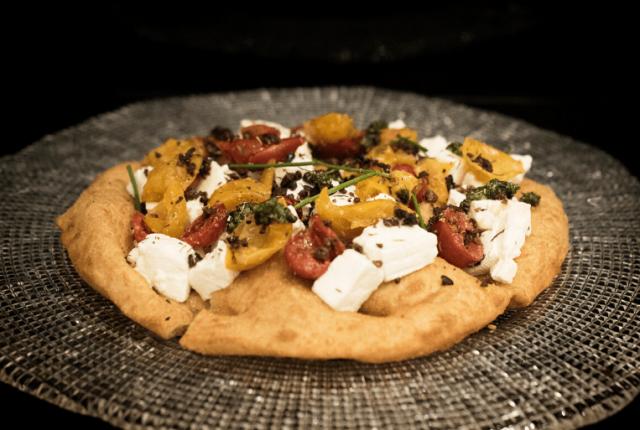 pizza fritta De Cham