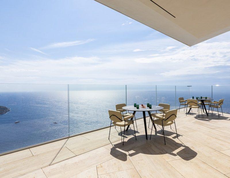 La terrazza di Ceto al Maybourne Riviera