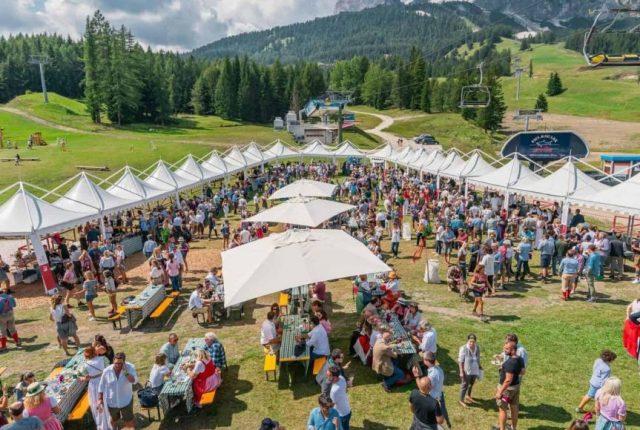 cortina-summer-party food and wine italia