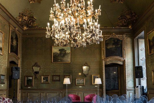 La sala del Circolo dei Lettori a Torino